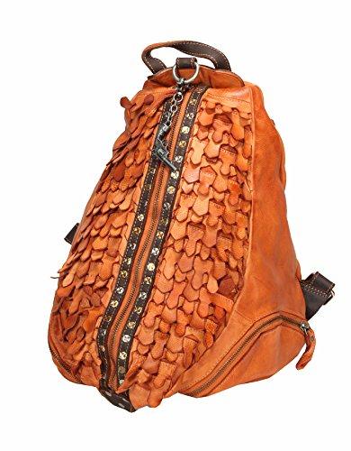 Billy the Kid by Greenburry , Sac à main porté au dos pour femme orange pêche