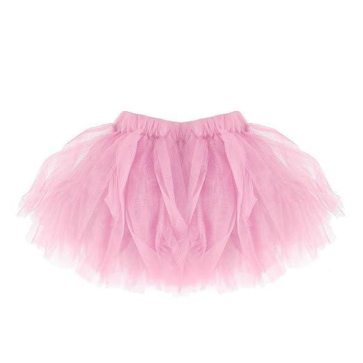 dff977a37 Inkach Baby Girls Tutu Skirt - Toddler Kids Ballet Skirts Fluffy Petticoat  Short Tulle Skirt (