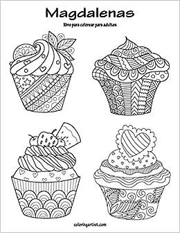 Magdalenas Libro Para Colorear Para Adultos 1 Volume 1