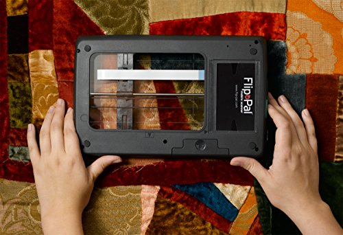 Flip-Pal Wireless Scanner. With 4GB Wi-Fi SDHC card. StoryScans talking images and EasyStitch stitching software included on SD card. ScanTools app for iOS and Android devices. by Flip-Pal (Image #4)