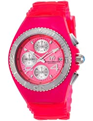 Technomarine Womens Cruise Quartz Stainless Steel and Silicone Casual Watch, Color:Pink (Model: TM-115358)