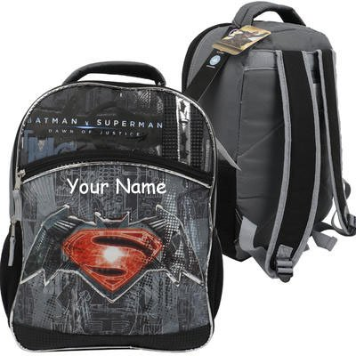 82b05c01dc5 ... Personalized DC Comics Batman vs Superman Dawn of Justice Backpack - 16  Inches huge discount 73304 ...