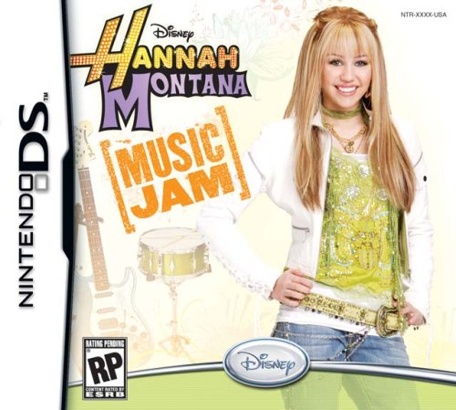 Hannah Montana: Music Jam - Nintendo DS (Cheap Nintendo Ds Games)