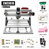 2 in 1 Laser Cutting and Engraving Machine 500mW Class 4 Desktop CNC3018 for Wood, Acrylic & PVC. Made for Small Business and Creative Talents