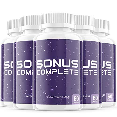 5-Pack-Sonus-Complete-Tinnitus-Supplement-Pills-Premium-Sonus-Relief-Supp-Capsules-for-The-Original-Brand-Only-300-Capsules