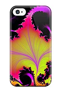 High Quality TYtkoxS7026gpQIl Fractal Tpu Case For Iphone 4/4s