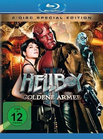 Hellboy 2 - Die goldene Armee  (+ DVD) [Alemania] [Blu-ray]