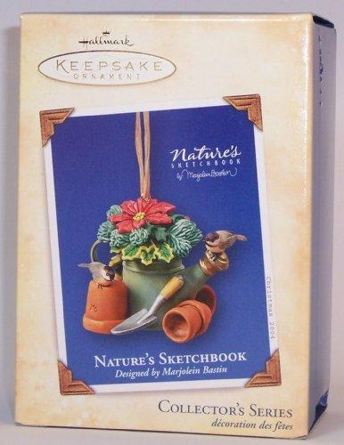 Hallmark Nature's Sketchbook Collectible Ornament Marjolein Bastin