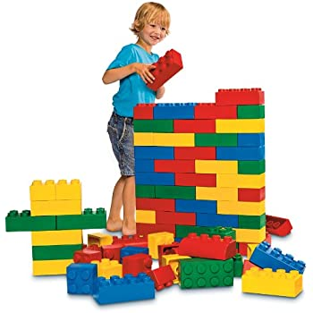 Amazon.com: 24pc Jumbo Blocks - Beginner Set (Made in the USA ...