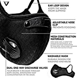 Dulzod Dust Masks Veil Reusable Carbon Activated