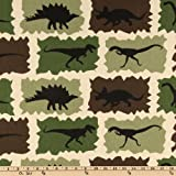 Premier Prints Dinosaur Rex Camo Fabric By The Yard