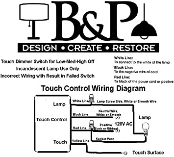 3 Way Touch Lamp Switch Wiring Diagram