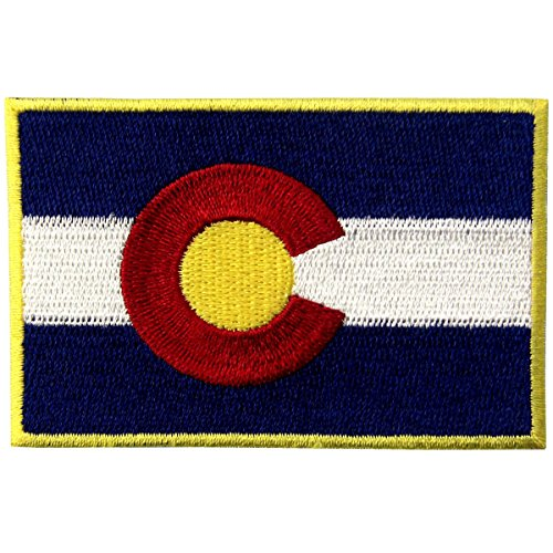 Best colorado flag patch iron on for 2020