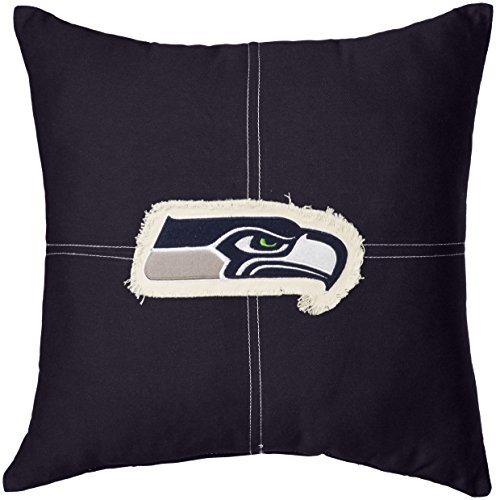 - The Northwest Company Officially Licensed NFL Seattle Seahawks Letterman Pillow, 18