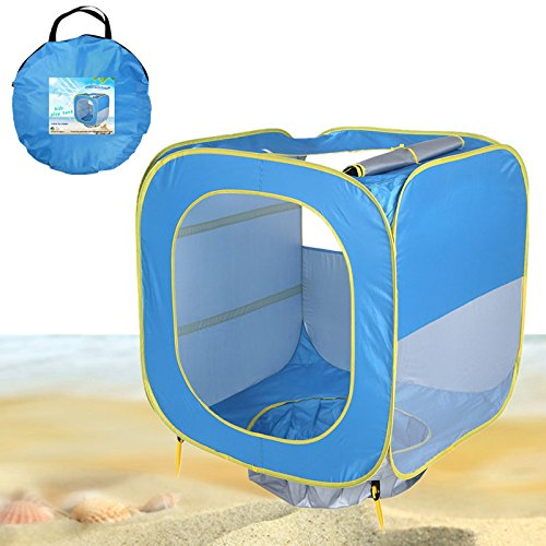 Baby Beach Paly Zelt Pop Up Kids Tragbare Shade Pool Für Kinder Uvschutzsun Shelter