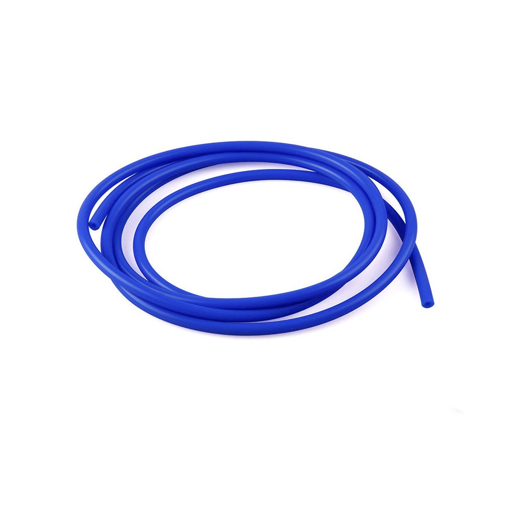 Ainstsk Tubo in silicone flessibile 3mm inner diameter blu Blue tubo in silicone 1/metre blu acqua aria tubo flessibile