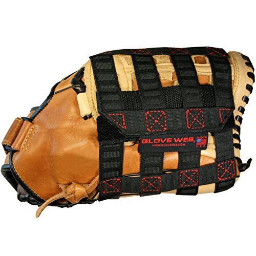 Glove Locker - Glove Web Pro Sports Baseball Softball Glove Accessory Break In Shape Train Maintain Protect Made in U.S.A.
