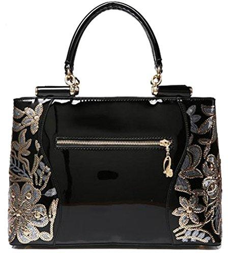 fourre sac épaule main sac femmes à main sac verni sac 2017 nouvelle à Ghlee mode grande Rouge de la à tout cuir de la bandoulière en Rgcqfx