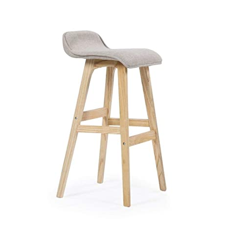 Fantastic Amazon Com Rdmz Bar Stools High Stool Bar Stool Solid Wood Caraccident5 Cool Chair Designs And Ideas Caraccident5Info