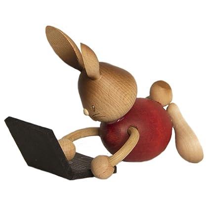Snubby conejito con el ordenador portátil - 12 cm / 4,7 pulg