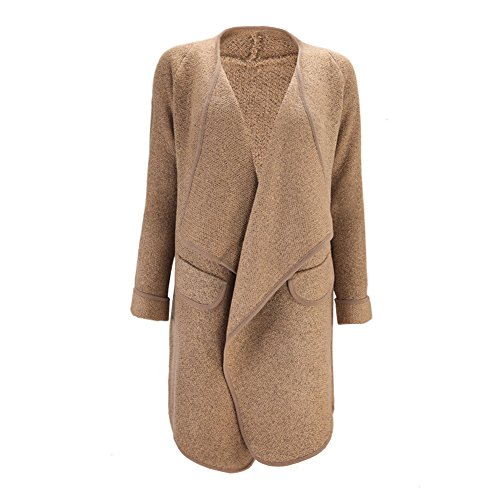 Manteau Sexy Manches Chaud Cardigan Hiver Longues Eleery Parkas 6qwwE8xa1