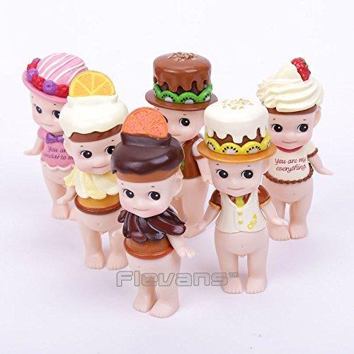 Sonny Angel Chocolate Series Mini PVC Action Figures Collectible Model Toys Dolls 6pcsset 8cm