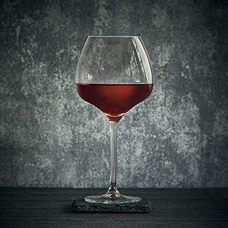 Libbey copa de vino Servan – 53 cl / 530 ml - 6 Unidades - Diseño Sofisticado - Resistente al Lavado en Lavavajillas