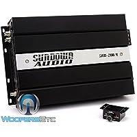 Sundown Audio SAX-200.4 V.2 4-Channel Full Range Digital Amplifier