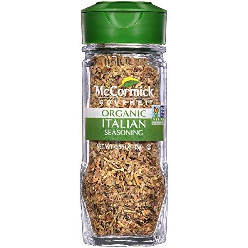 - McCormick Gourmet Organic Italian Seasoning, 0.55 oz