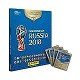 capa de Álbum Capa Dura da Copa do Mundo Rússia 2018 + 60 Figurinhas