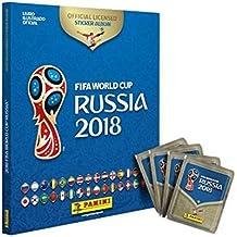 Álbum Capa Dura da Copa do Mundo Rússia 2018 + 60 Figurinhas