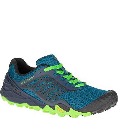 Merrell All Out Terra Light Mens Shoes/Sneakers/Trainers/Sport Blue