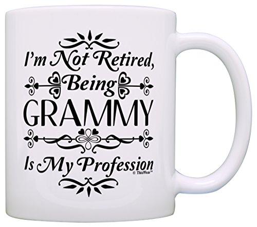 Retirement Retired Grammy Profession Coffee