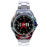 MRZK126 NEW RARE Michael Jordan Air Jumpman CUSTOM MEN'S CHROME WATCH WRISTWATCHES