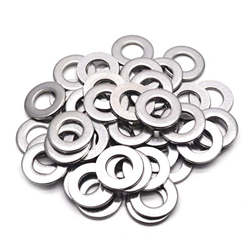 - Sydien 50pcs Stainless Steel 304 M12 Metric Flat Washers for Bolt Screw