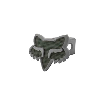 Fox Racing Trailer Hitch Cover (Black/Charcoal): Automotive