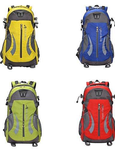 GXS Tourenrucksäcke/Wandern Tagesrucksäcke/Radfahren Rucksack/Travel Organizer ( Gelb/Grün/Rot/Blau , 45 L) Wasserdicht/Schnell