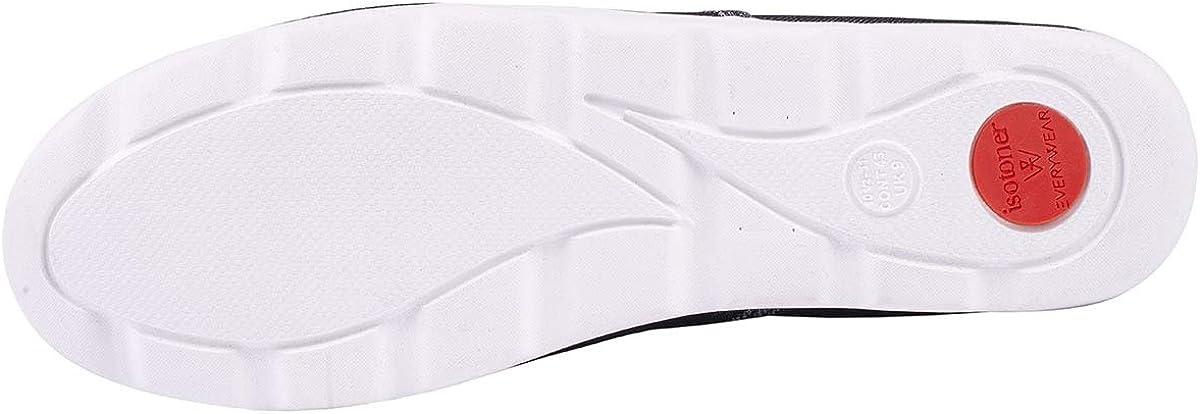 Isotoner Chaussures Femme en Toile Ultra-l/ég/ères