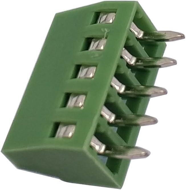 2.54mm 150V6A CE Rohs UL 50pcs//lot E-Simpo 2.54mm PCB Screw Terminal Block 2.54mm 8P