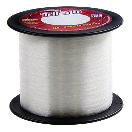 - Trilene XL Smooth Casting Service Spools - Clear Fishing Line - 8 lb. test
