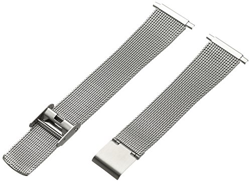 Hadley-Roma Men's MB3806RWSQ-22 22-mm Mesh Stainless Steel Watch Bracelet by Hadley Roma (Image #3)