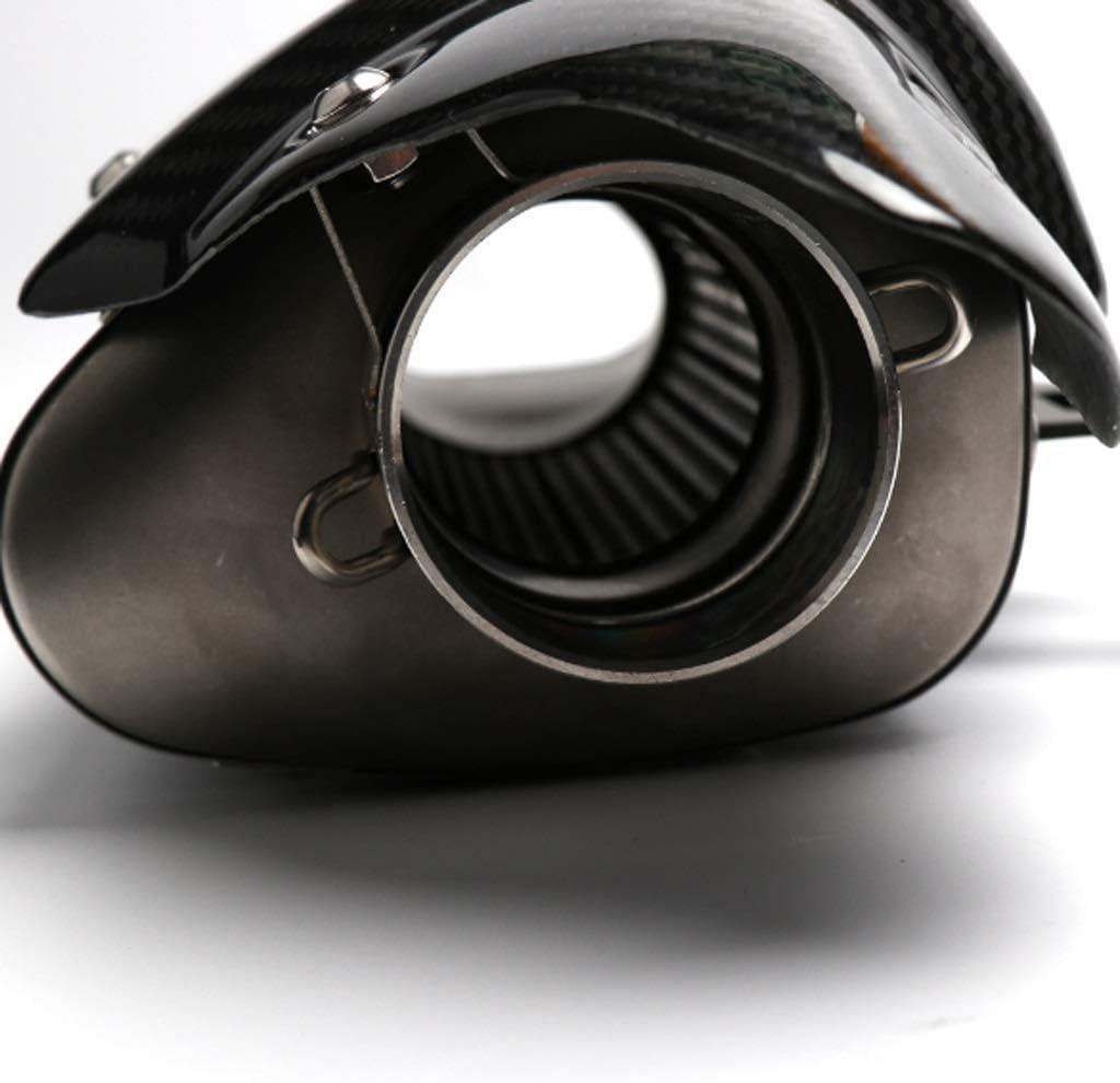 Moto silencieux de pot d/échappement en acier inoxydable de 51 mm tuyau d/échappement oblique adapt/é for Yamaha R6 akrapovic modification d/échappement de queue Collecteurs d/échappementNSDFG