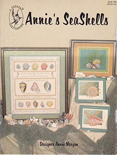 Sampler Counted Cross Stitch Leaflet - Pegasus Originals Annie's Sea Shells Counted Cross Stitch Leaflet