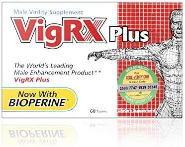 VigRX Plus Male Virility Herbal Dietary Supplement Pill - 60 Tablets