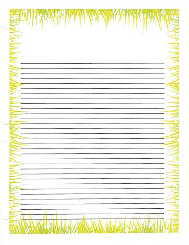 Grass 3 Hole Loose Leaf Paper 50 Sheets by Grass Loose Leaf Paper