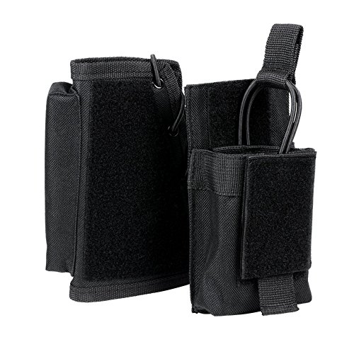 (VISM by  NcStar Stock Riser with Mag Pouch, Black (CVSRMP2925B))