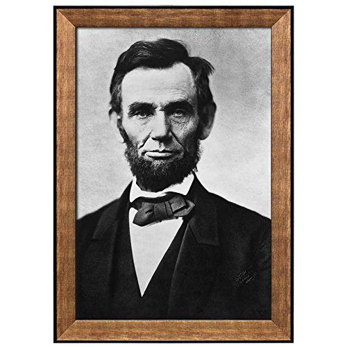 Portrait of Abraham Lincoln (16th President of the United States) American Presidents Series Framed Art Print