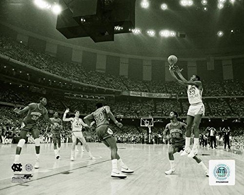North Carolina Michael Jordan 1982 Finals Game-Winning Shot 8