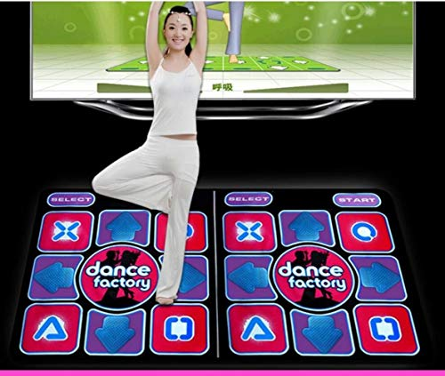 QXMEI Projection Sense Massage Dance Mat Double Thick Computer TV Dual-use Game Blanket by QXMEI (Image #4)