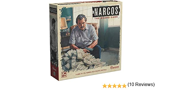 CoolMiniOrNot CMNSNRC001 Narcos: The Board Game, Mixed Colours: Amazon.es: Juguetes y juegos